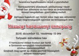 November 27. vasárnap: Adventi gyertyagyújtás