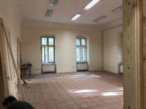 Az egykori Károlyi-uradalom Tiszttartó házának a felújítása